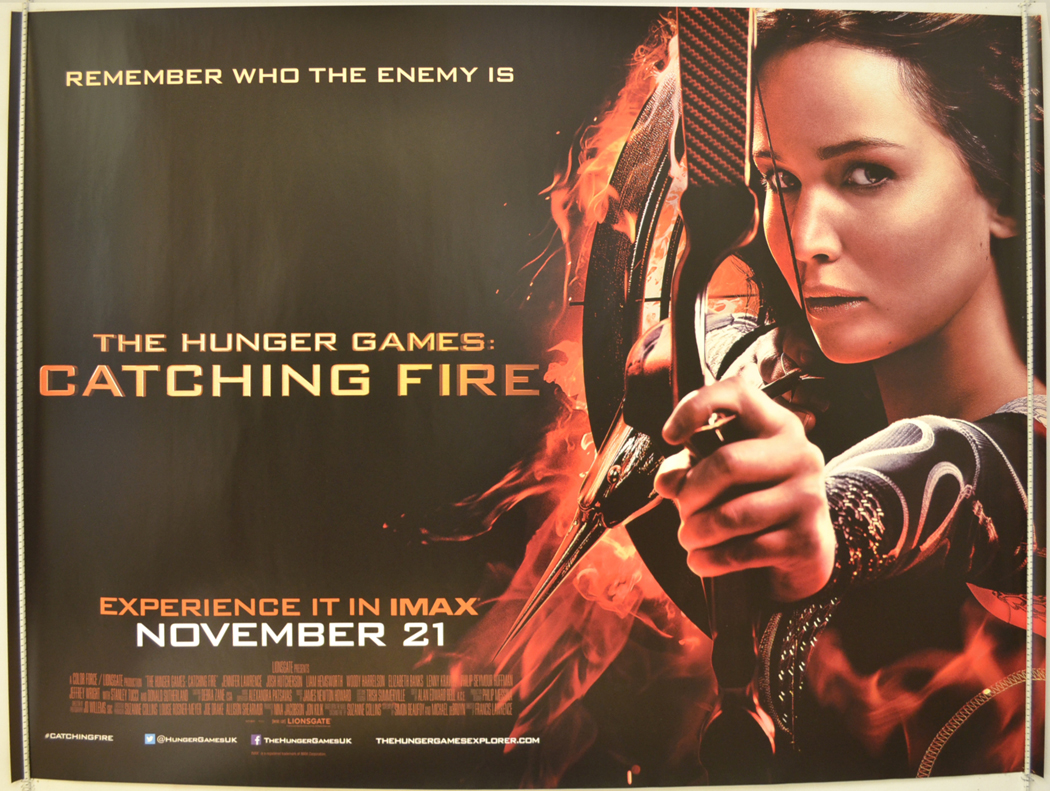 Hunger Games : Catching Fire (The) (Teaser / Advance ...