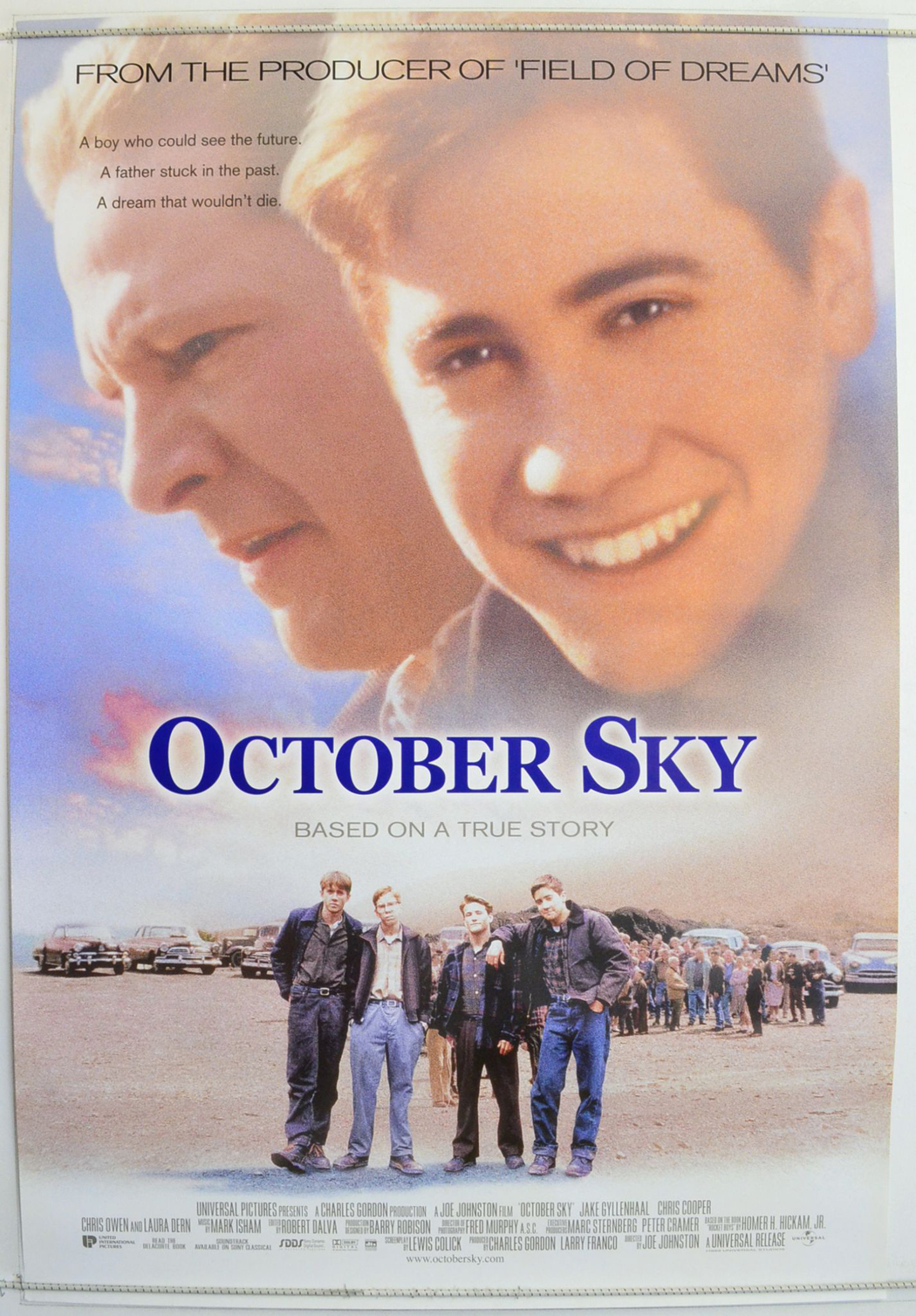 an analysisof determination in the movie october sky October sky movie review summary a scientist after witnessing the passage of sputnik i over the united states in october 1957 script analysis of october sky.