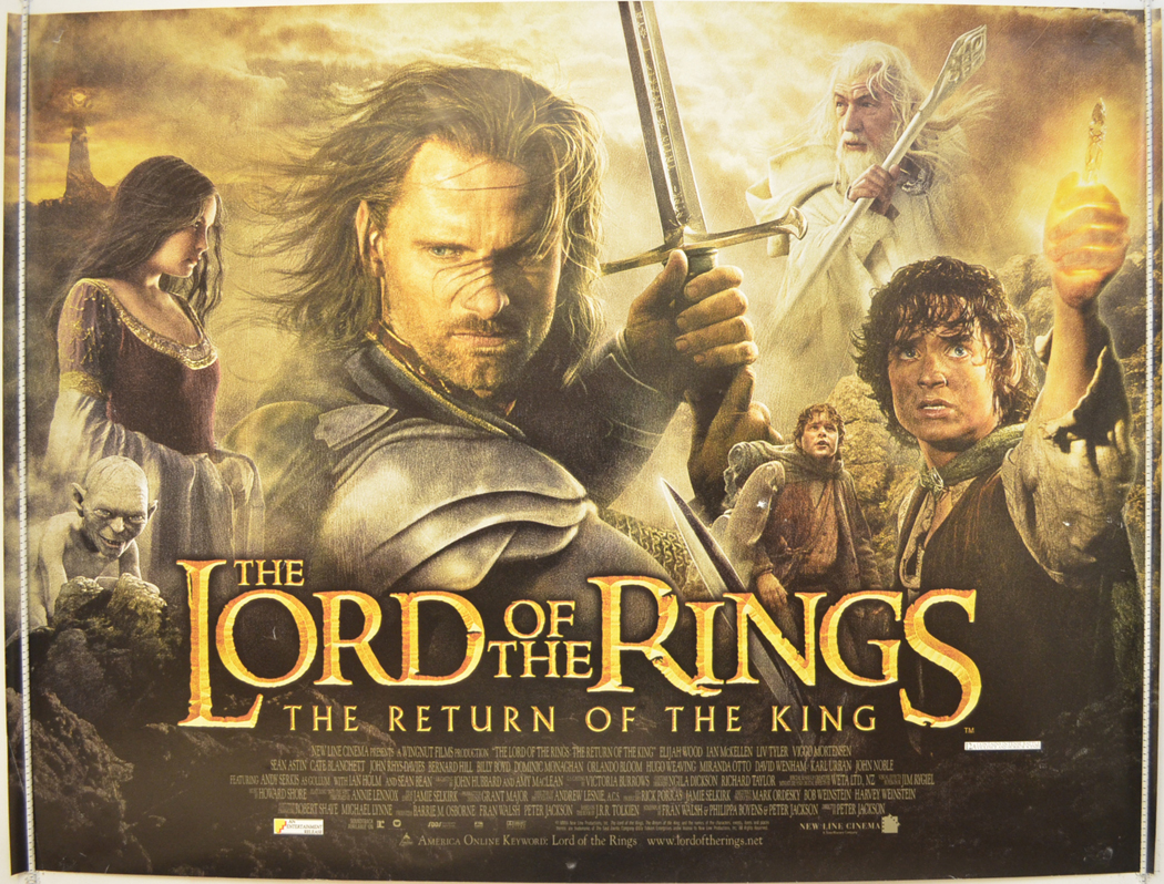 Movie Posters 2000: LORD OF THE RINGS : THE RETURN OF THE KING (2000) Original