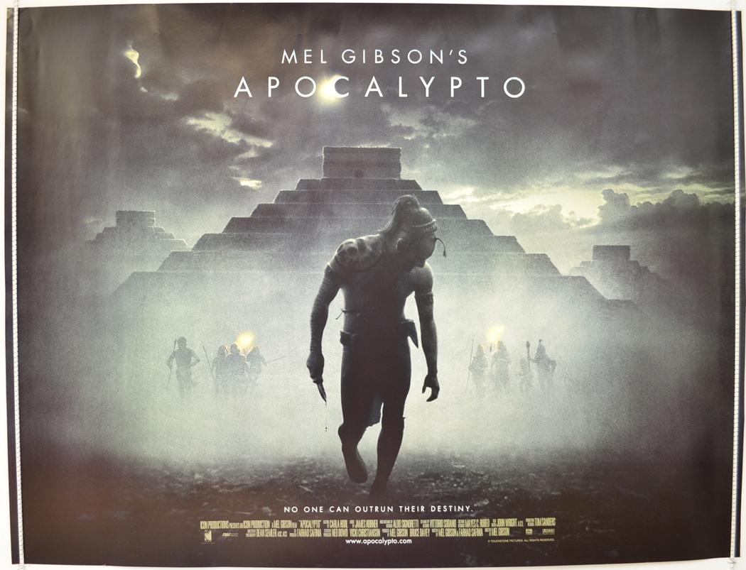 apocalypto original cinema movie poster from pastposters