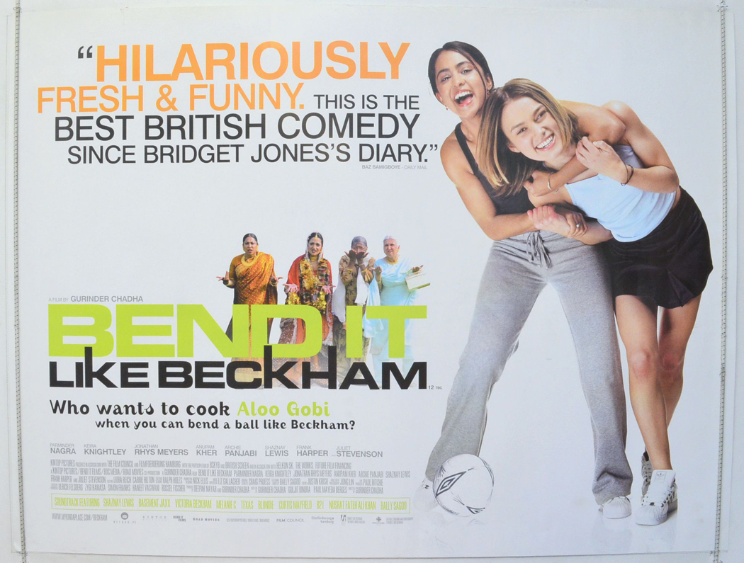 Bend It Like Beckham - Original Cinema Movie Poster From ...