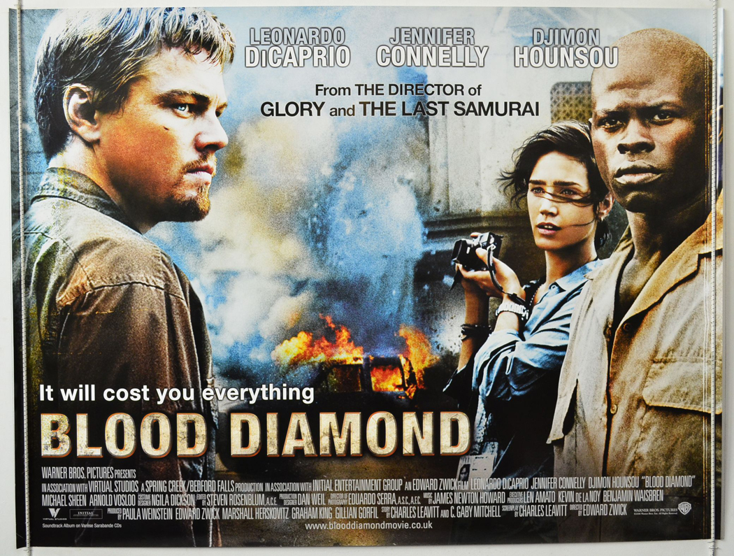 political review of blood diamond Week seven: (october 5, 7 9) economic institutions and political institutions / social  in cold blood , robert blake  blood diamond (racism, social.