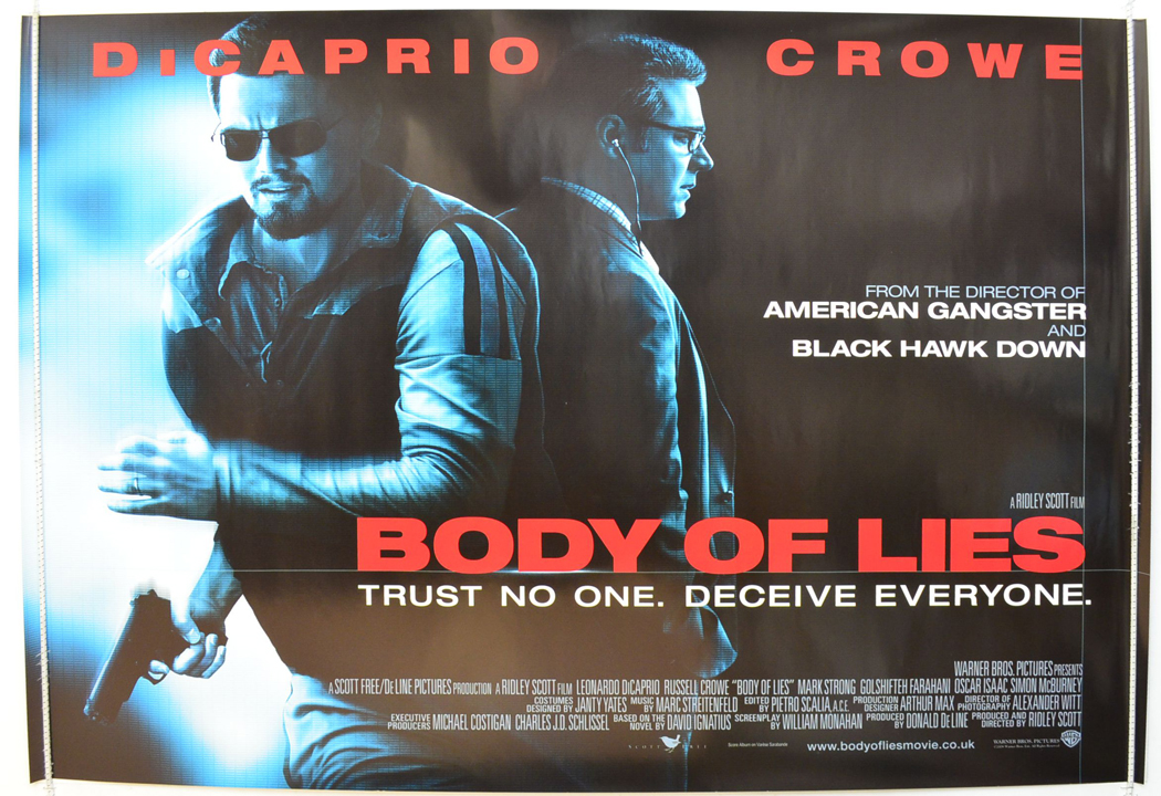 Body Of Lies - Original Cinema Movie Poster From ...