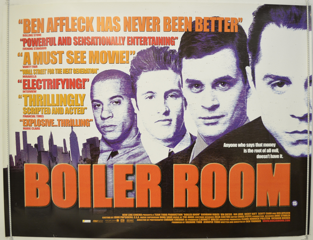 Boiler Room Movie Year  Poster