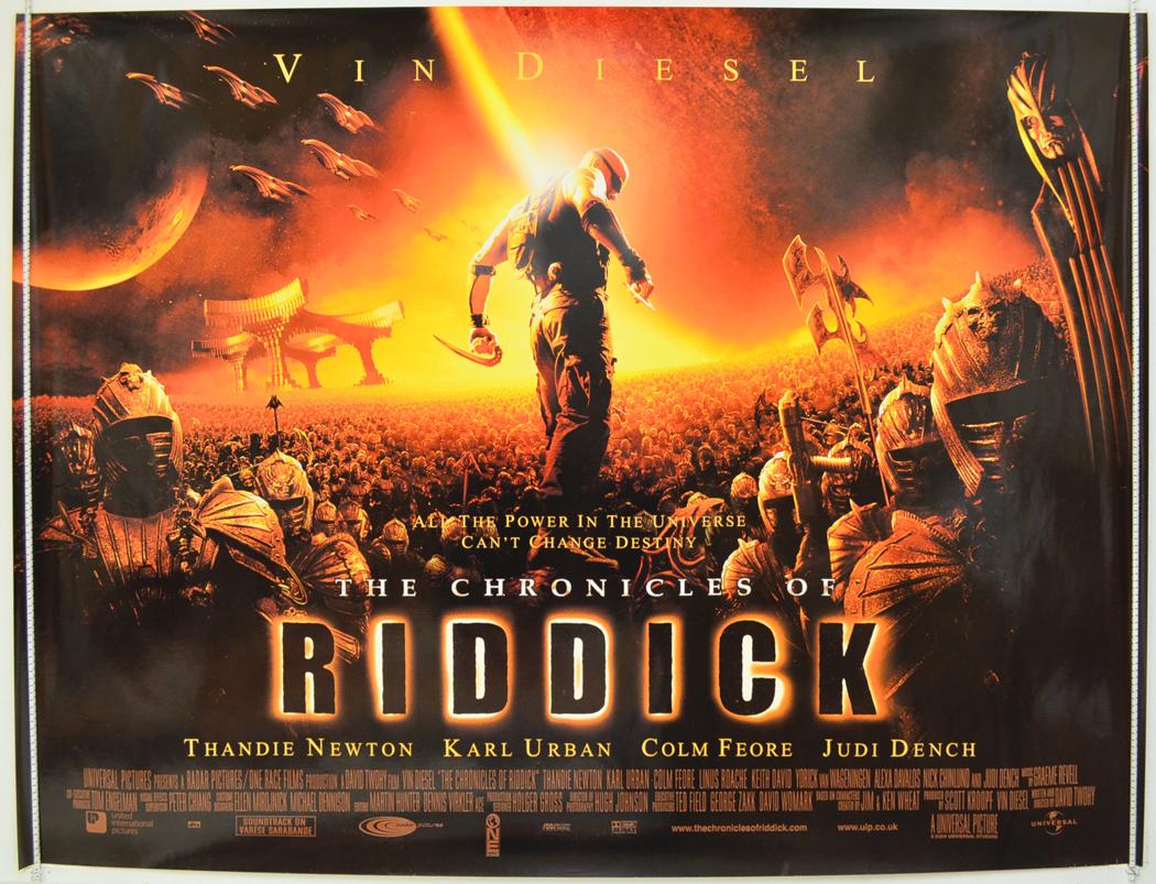 Riddick 3 Movie Poster | www.pixshark.com - Images ...