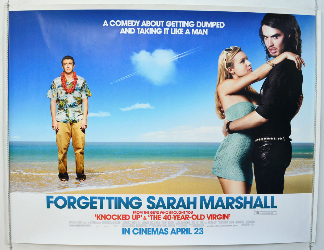 Forgetting Sarah Marshall - Original Cinema Movie Poster ...