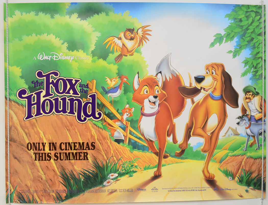 fox and the hound the 1995 rerelease original