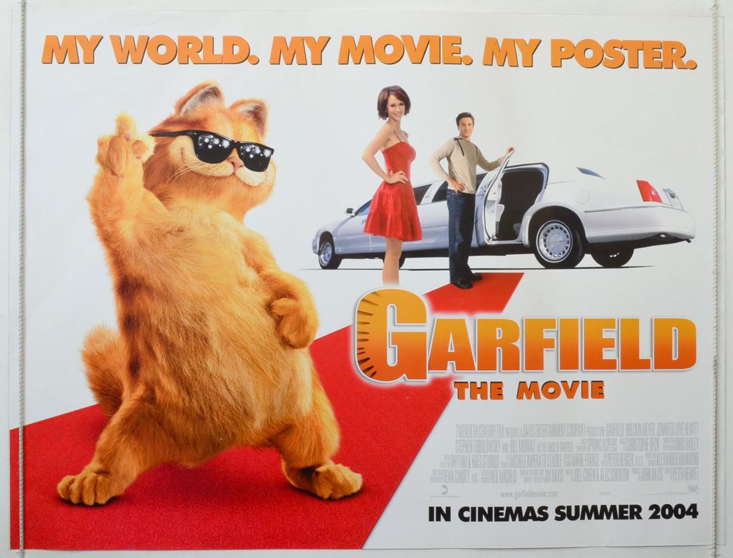 Garfield The Movie - Original Cinema Movie Poster From ...