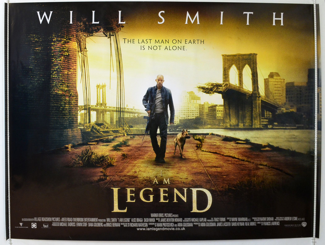 I Am Legend Movie Poster I Am Legend - Original...