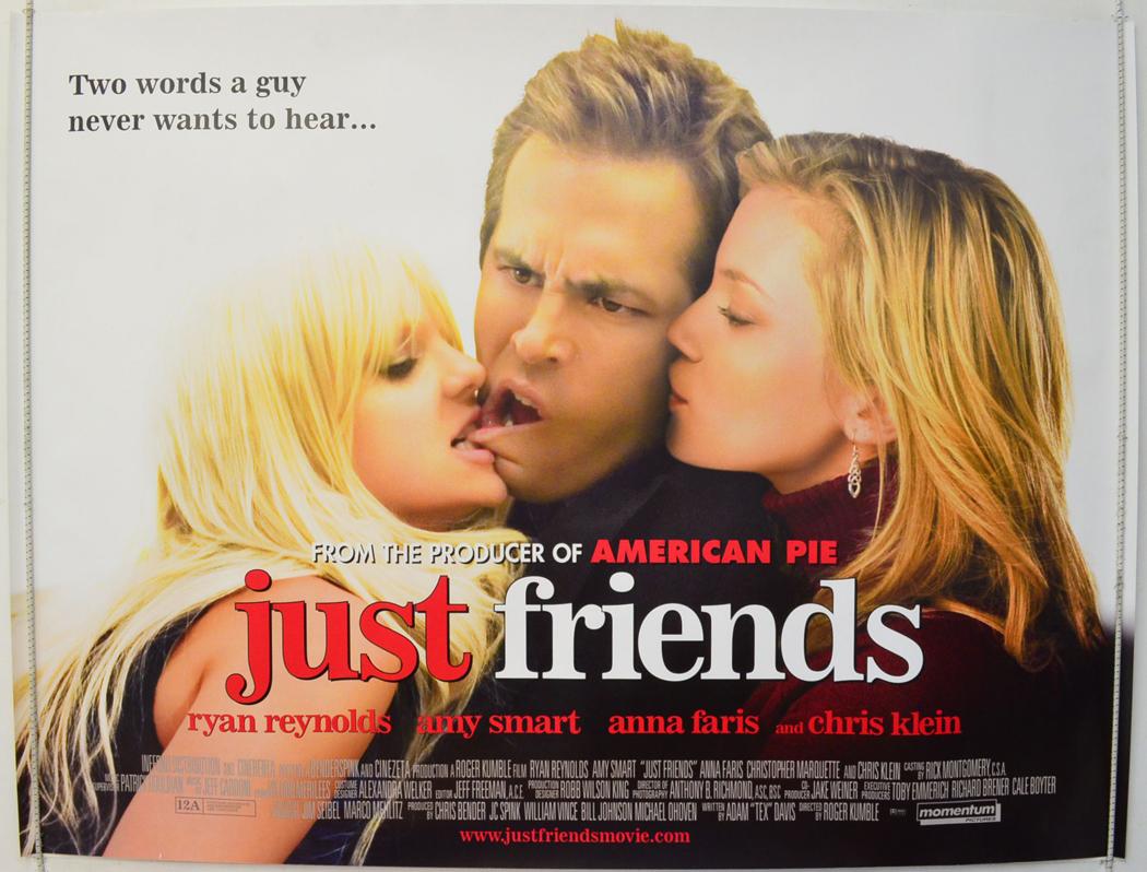 just friends original cinema movie poster from