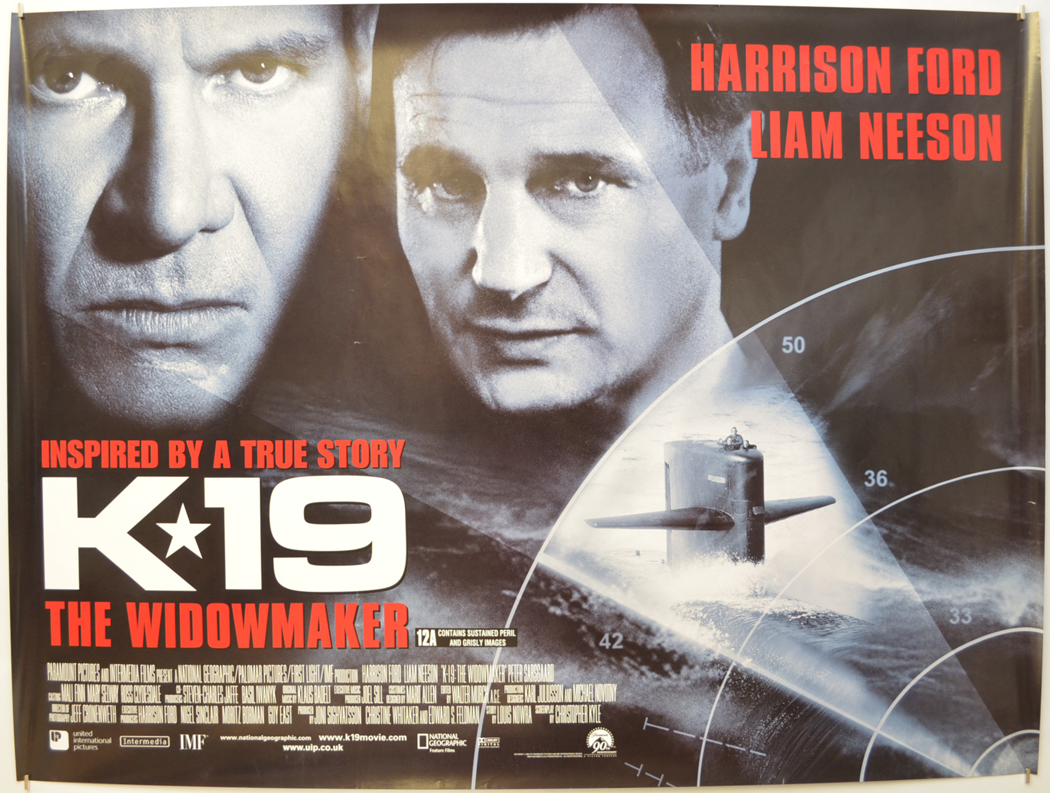 2000 Ford Edge >> K-19 : The Widomaker - Original Cinema Movie Poster From pastposters.com British Quad Posters ...