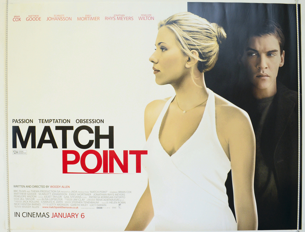 Match Point - Original Cinema Movie Poster From ...