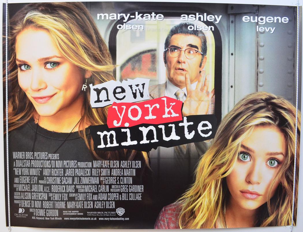 new york minute original cinema movie poster from