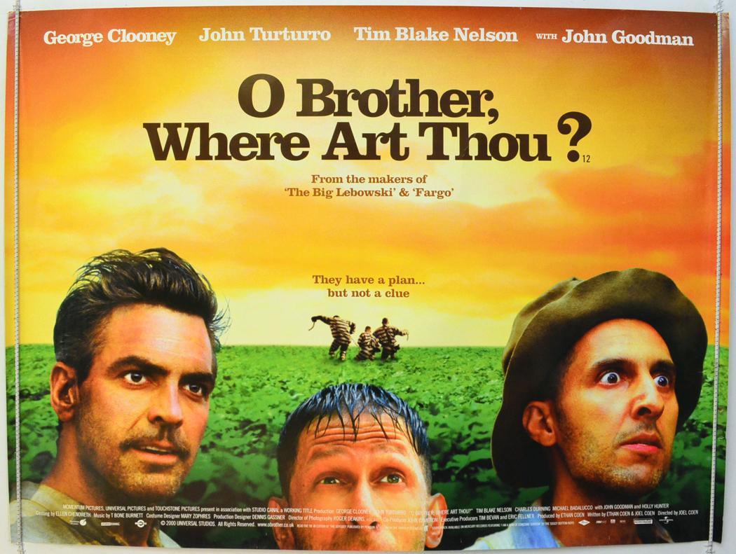 O Brother Where Art Thou? - Original Cinema Movie Poster ...