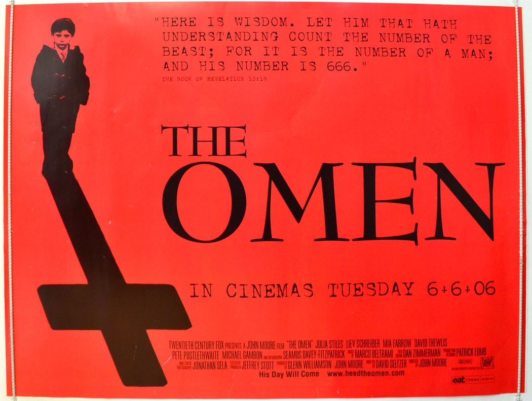 Movie Posters 2006: Omen (The) (Teaser / Advance Version)