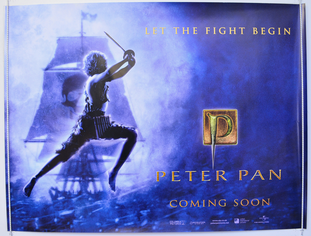 Movie Posters 2003: PETER PAN (2003) Original Quad Movie Poster