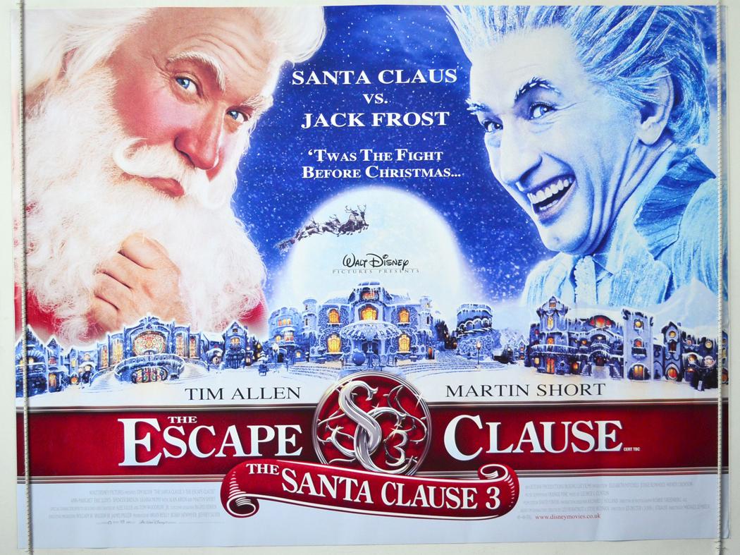 The Santa Clause 3 The Escape Clause 2006 Original