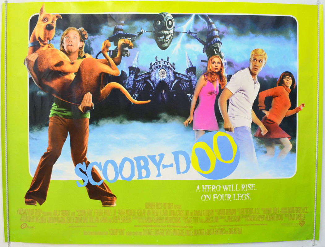 scoobydoo original cinema movie poster from pastposters