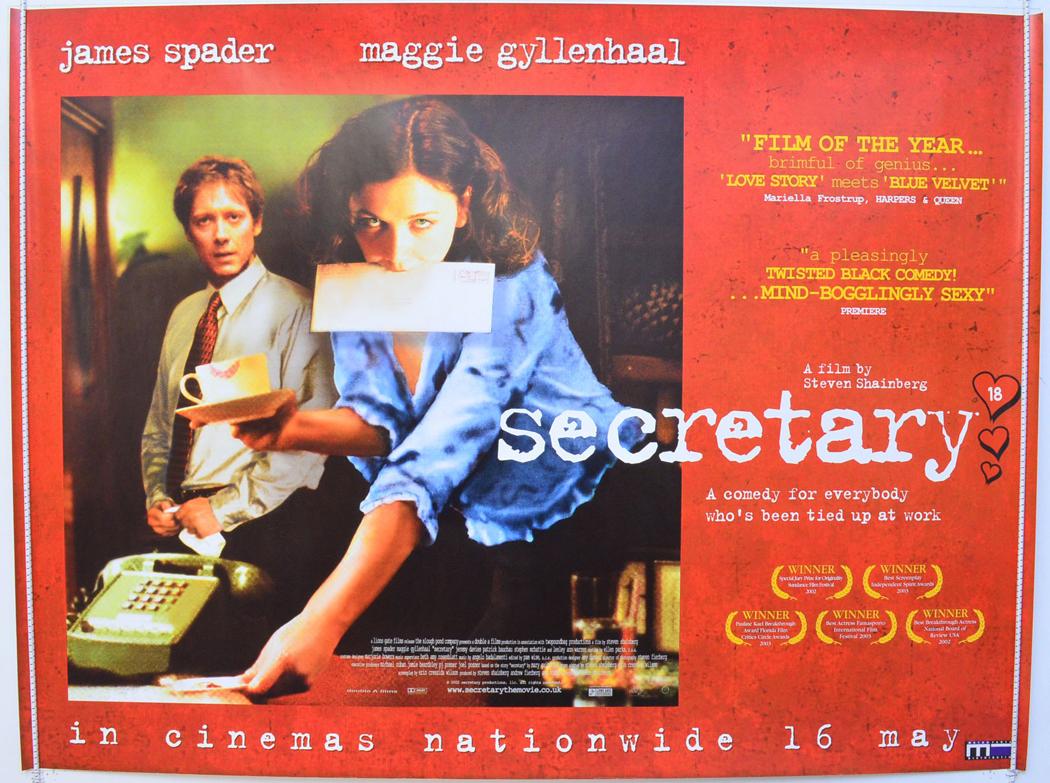 secretary original cinema movie poster from pastposters