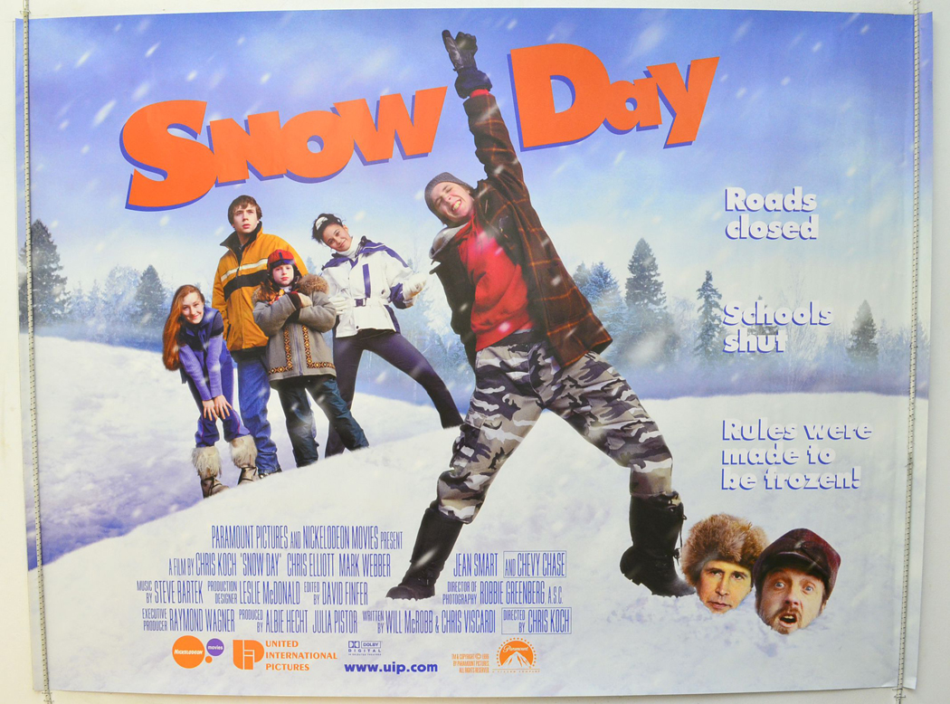Snow Day - Original Cinema Movie Poster From pastposters.com British Quad Posters and US 1-Sheet ...