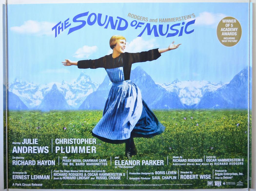 Sound of Music Poster  eBay