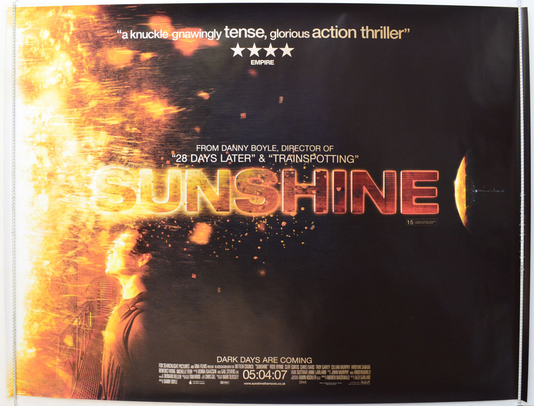 Movie Posters 2007: Sunshine (Teaser / Advance Version)