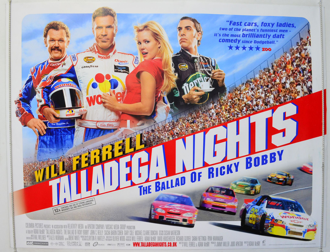 Ballad bobby movie night ricky talladega