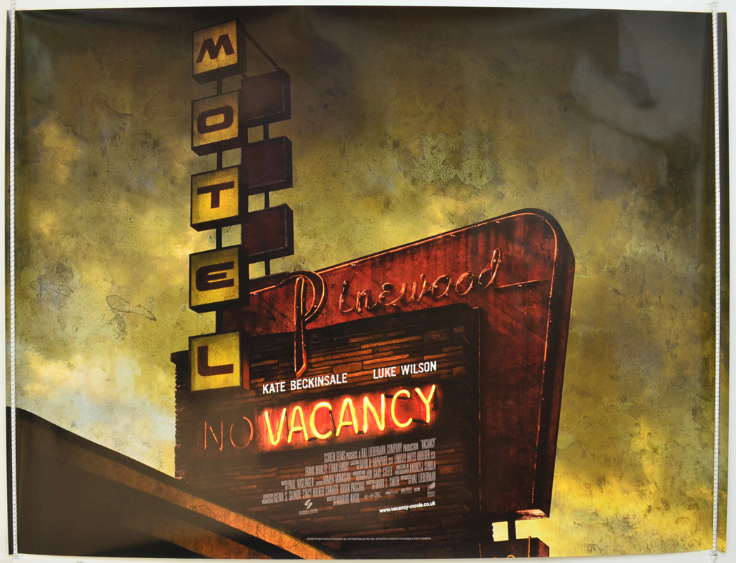 Vacancy - Original Cinema Movie Poster From pastposters ...