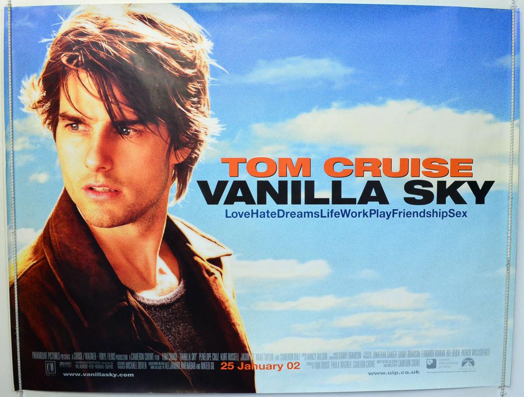 Vanilla Sky - Original Cinema Movie Poster From ...