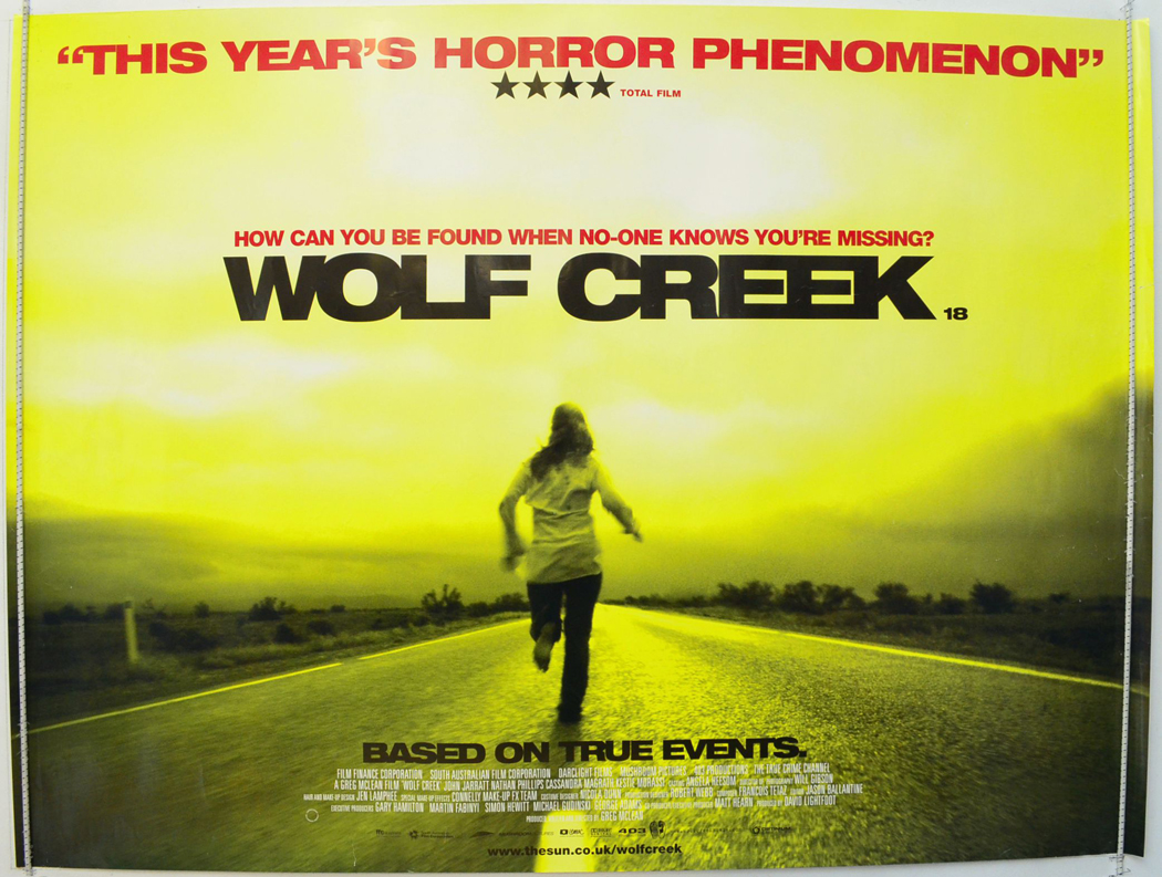 wolf creek single personals Film review wolf creek well-crafted slasher flick misses the heart, but gets the guts, at least.