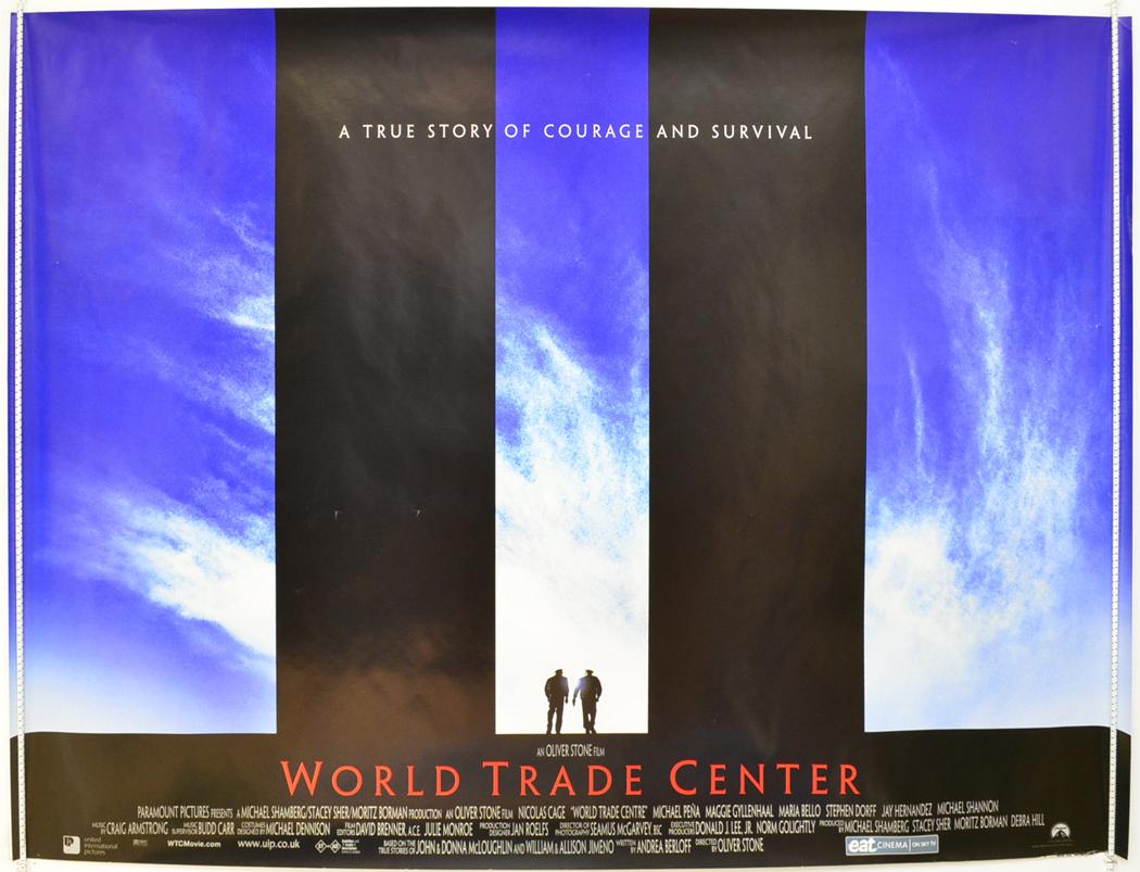 WORLD TRADE CENTER (2006) Original Quad Film Poster ...