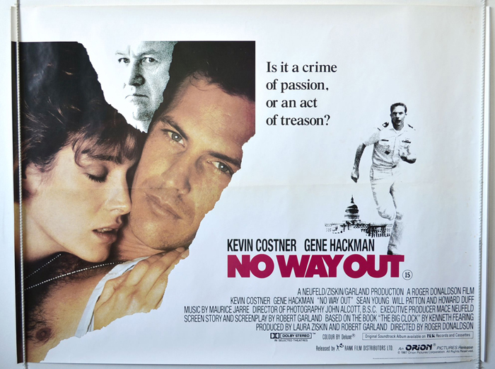 no way out original cinema movie poster from pastposters