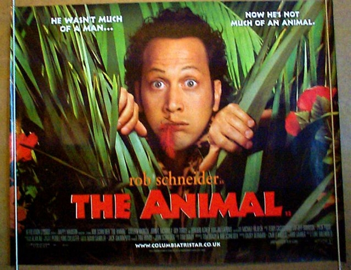 Animal (The) - Original Cinema Movie Poster From pastposters.com British Quad Posters and US 1 ...