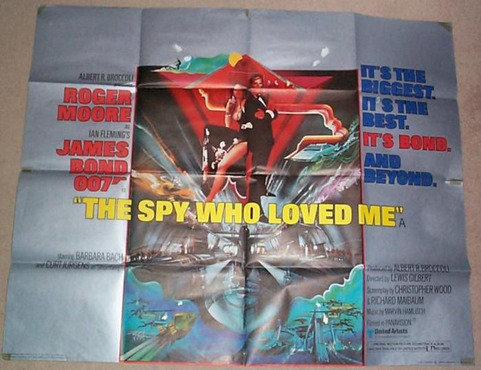 007 The Spy Who Loved Me James Bond Original Cinema