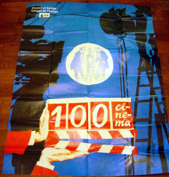 100 Years Of Cinema<br><p><i>Bus Stop Poster</i></p>