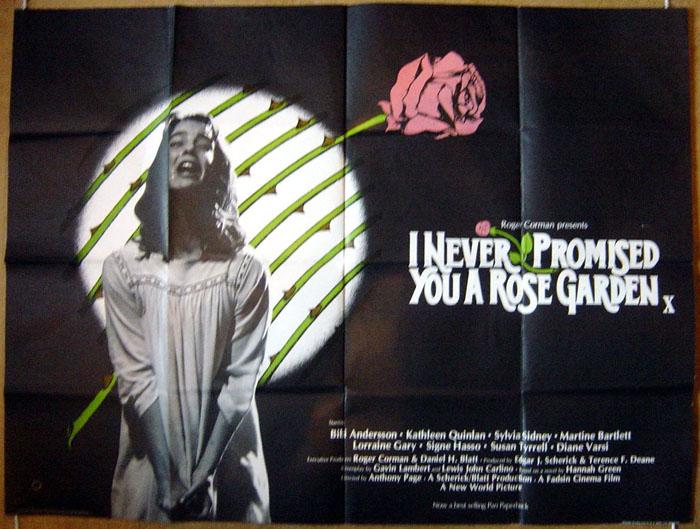 I Never Promised You A Rose Garden Original Cinema Movie