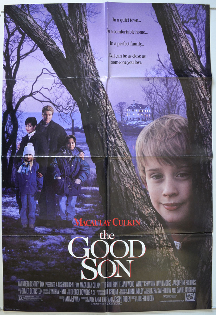 Good Son The Original Cinema Movie Poster From