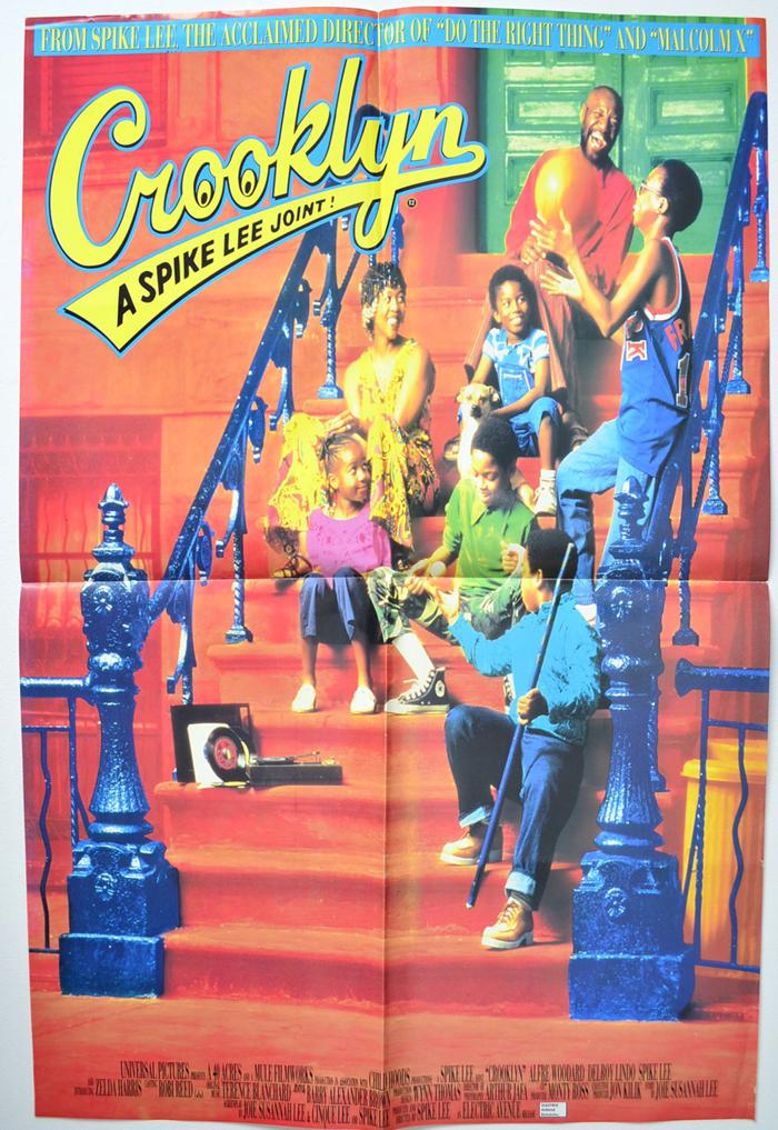 crooklyn mini one sheet poster original cinema movie