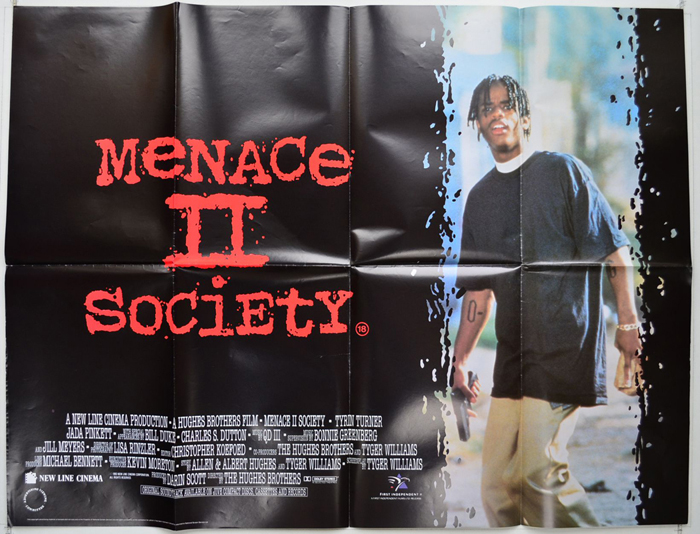 Menace II Society - Original Cinema Movie Poster From ...