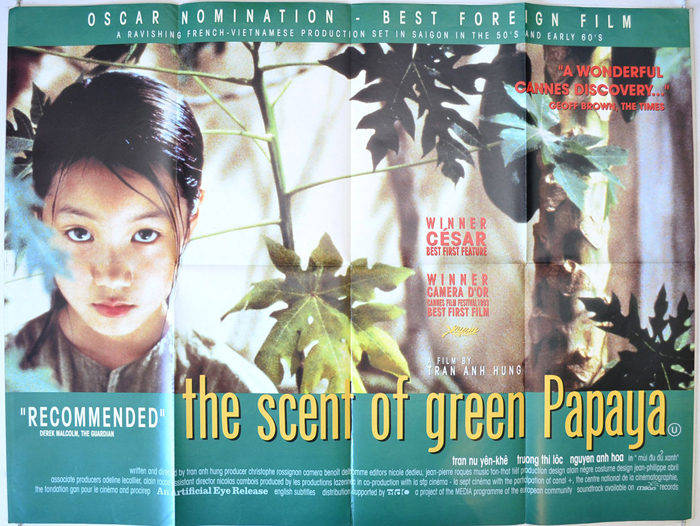 the scent of green papaya Discussion guide to the movie the scent of green papaya recommended for use by individuals and groups interested in spirituality and film.