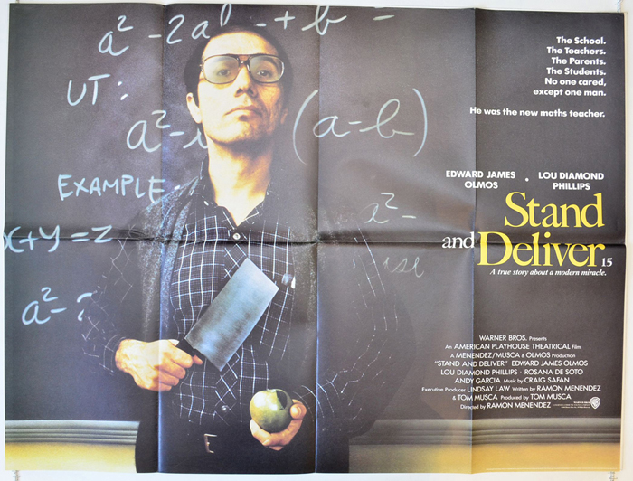 1988 Movie Posters: STAND AND DELIVER (1988) Original Cinema Quad Movie Poster