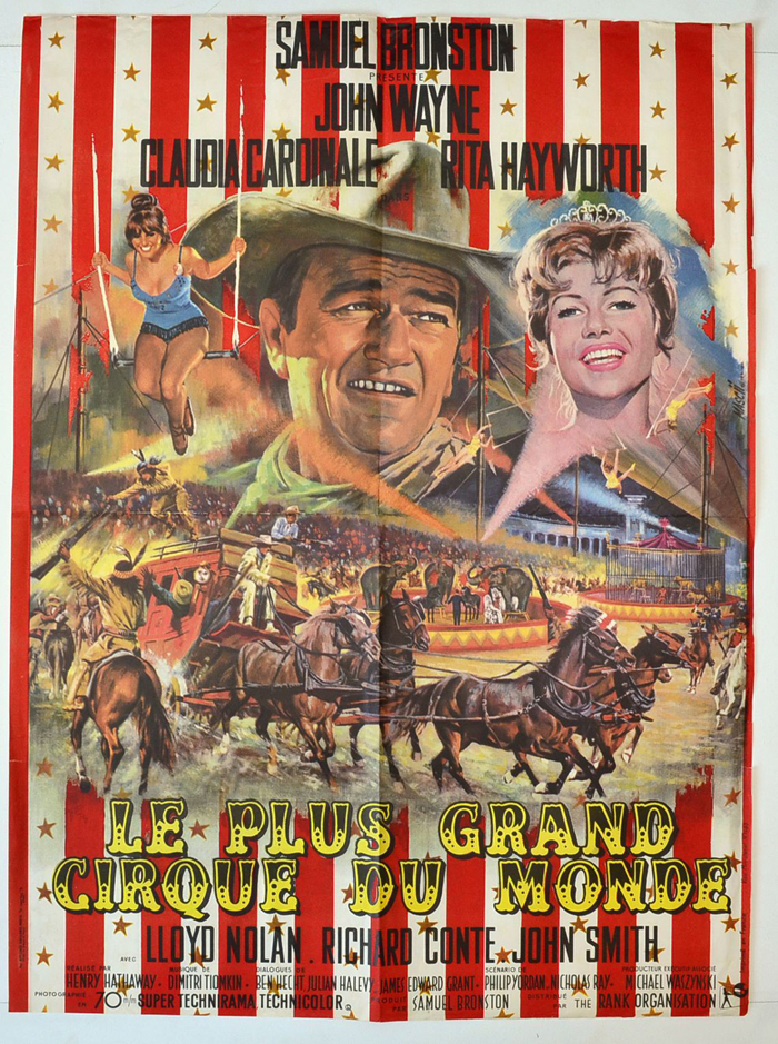 Circus World <p><i> (Original French Moyenne Cinema Poster) </i></p>