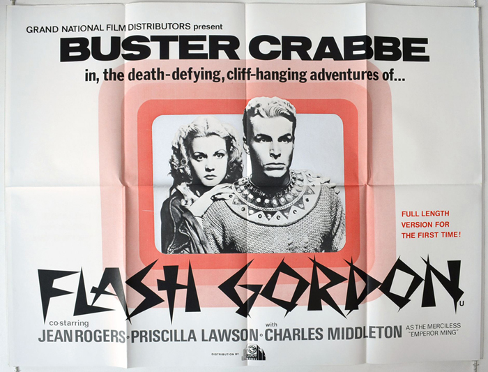Flash Gordon <p><i> (Feature length version of the 1930�s series) </i></p>