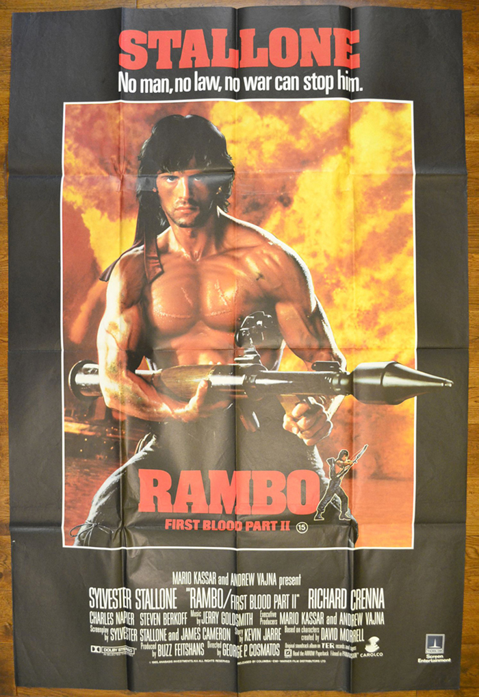 Rambo : First Blood Part II <p><i> (Bust Stop Poster 40 x 60 inches) </i></p>