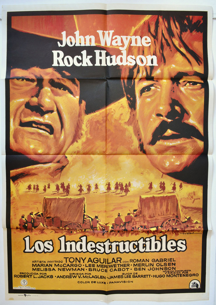 Undefeated (The) <p><i> (Spanish One Sheet Poster) </i></p>