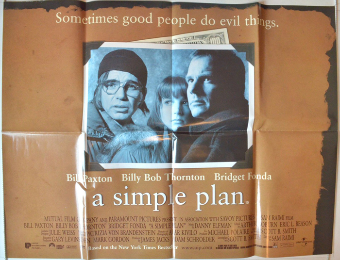 A Simple Plan - Original Cinema Movie Poster From ...