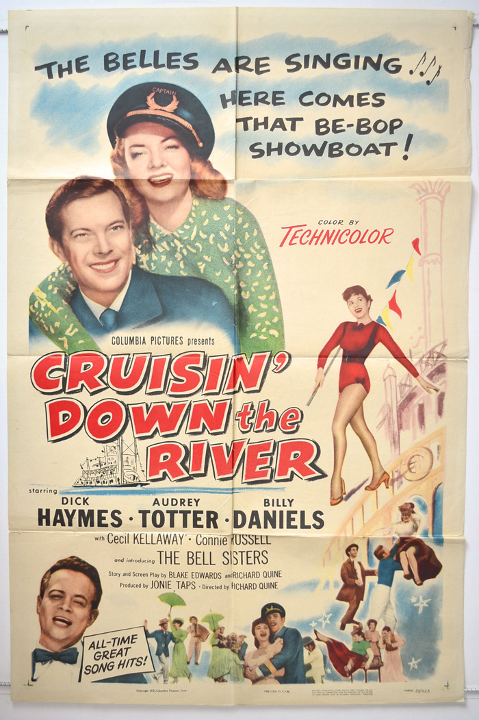 Cruisin down the river original cinema movie poster from