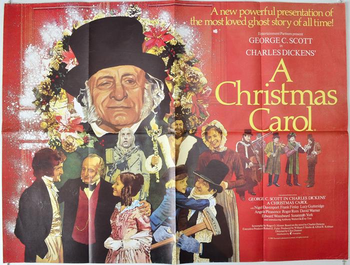 A Christmas Carol - Original Cinema Movie Poster From pastposters.com British Quad Posters and ...