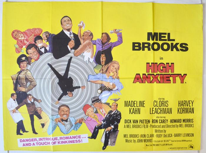 High anxiety movie photos