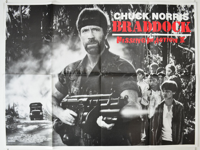Braddock : Missing In Action III  Missing In Action Poster